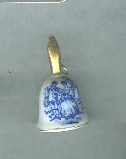 Vintage Miniature Porcelain Bell