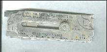 Vintage Weld Fillet Gage Welding Accessories