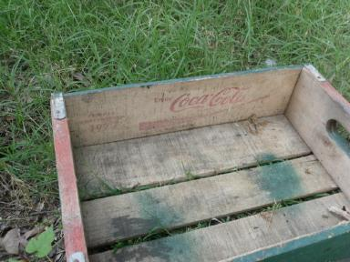 Vintage Wood Coca-Cola Crate