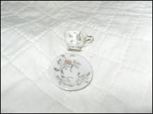 Vintage Miniature Tea Cup & Saucer