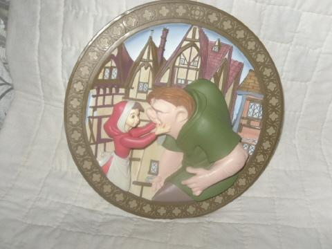Disney's Hunchback of Notre Dam Collector Plate