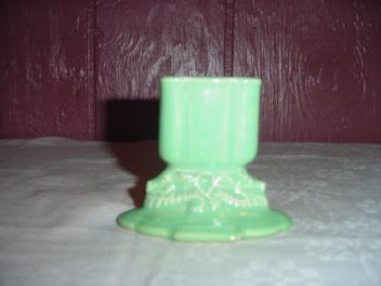 Antique Cowan Art Pottery Seahorse Vase