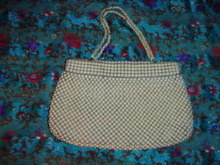 Vintage Whiting & Davis Mesh Hand Bag