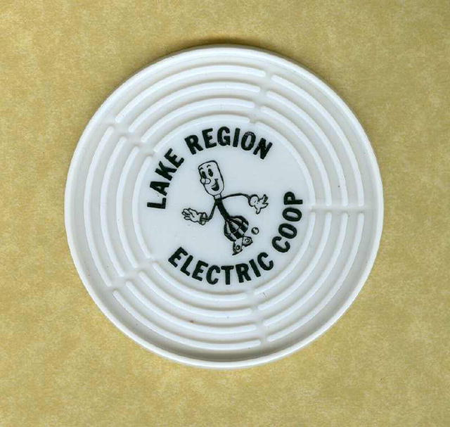 SALE Reddy Kilowatt Coaster Set
