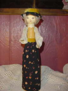 Vintage Bottle Doll