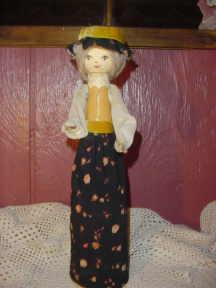 Vintage Bottle Doll