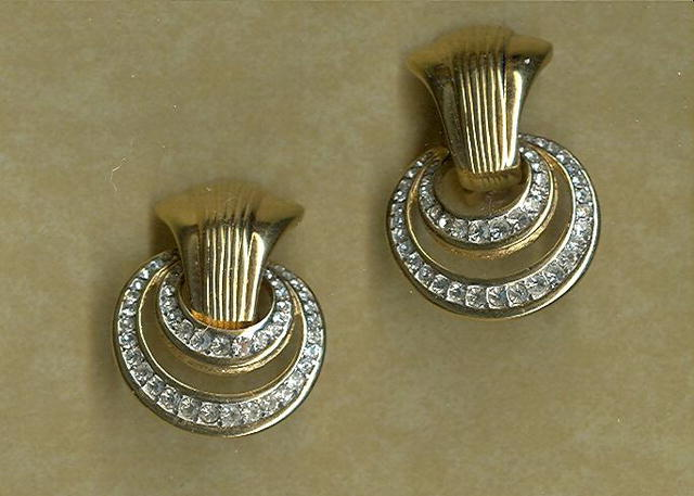 Vintage Kenneth J. Lane Earrings