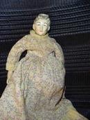 Antique  Porcelain Shoulder Doll