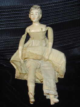 Antique  Porcelain Shoulder Doll