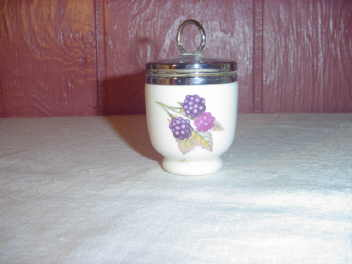 Vintage Porcelain Egg Coddler by Royal Worcester