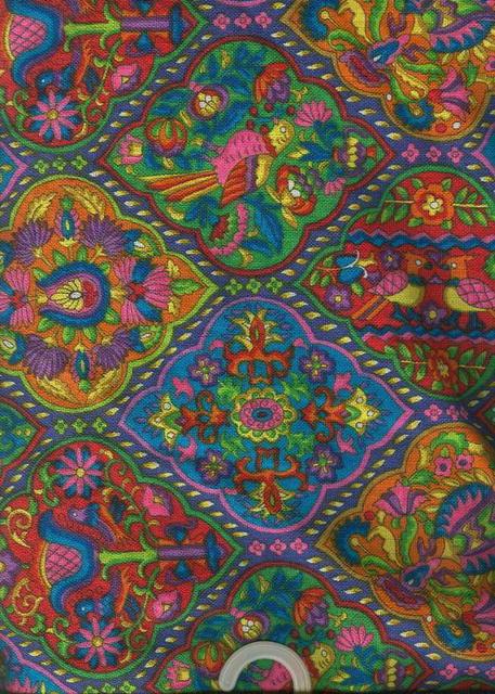 Beautiful Bright Print Fabric