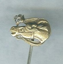 Antique Horse Hat Pin  **GOLD**??