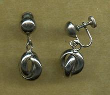 SALE Vintage Screw Back Earrings by Marino