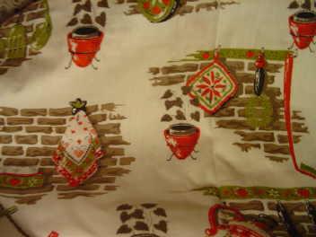 1940's Vintage Kitchen Fabric