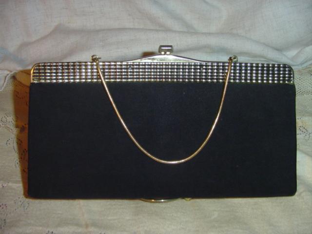 Black  Clutch Hand Bag