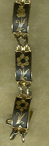 18 KT Gold Child's Link Bracelet