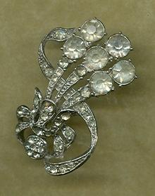 Art Nouveau  Hair Ornament