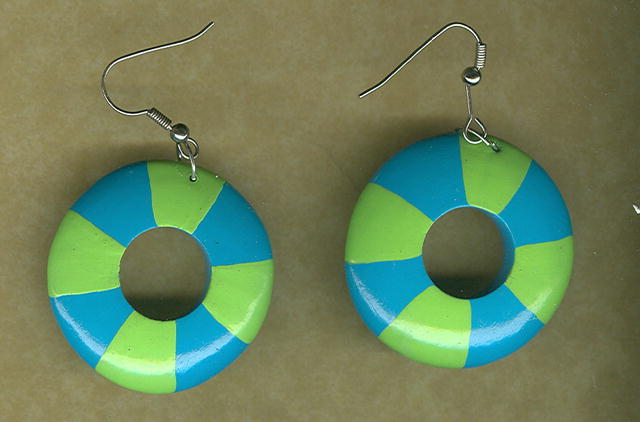 Fun Summer Hoop Earrings