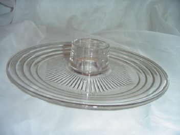 Safe Serv  Glass Serving Dish
