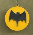 Vintage Enamel  Batman Pendant
