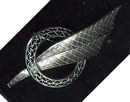 Sterling Silver Brooch *Signed Wells