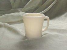 Vintage Ivory Fire King Coffee Mug