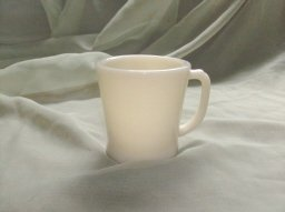 Vintage Ivory Fire King Coffee Mug