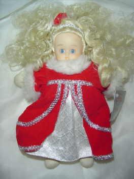 Sweet Christmas Angel Doll