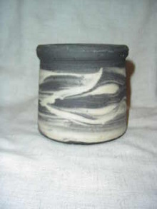 Niloak Mission Gray Swirl Vase