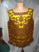 Vintage Wool Fringe Shirt