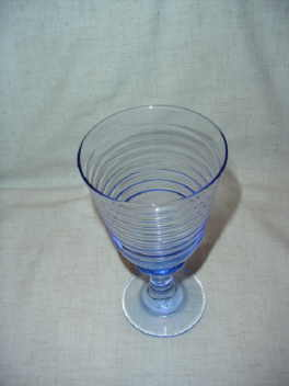 Pair of  Blue Goblets