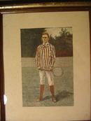 Vintage Tennis Print