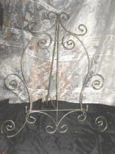 Homco  Home Interiors Metal Easel