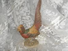 Vintage Lefton Golden Pheasant Figurine