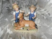 Homco Denim Days Porcelain Figurine 1510