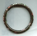 Large Size Cloisonne Bangle Bracelet
