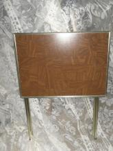 Metal T.V. Tray w/Stand