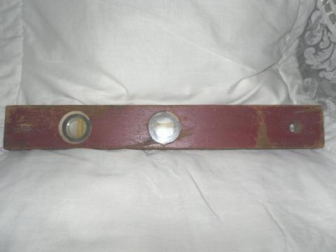 Vintage Wooden Carpenter's Level