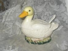 Vintage Duck Tureen or Gravy Boat