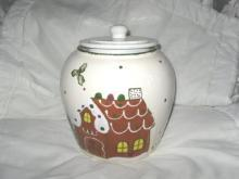 Frankoma Pottery Cookie Jar
