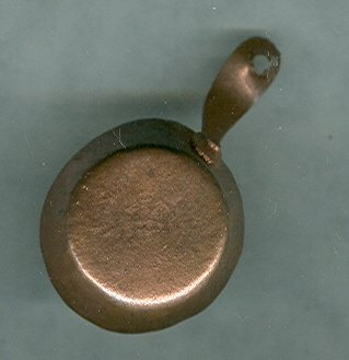 Vintage Miniature Copper Pan or Skillet