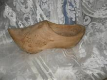 Vintage Holand Wooden Shoe