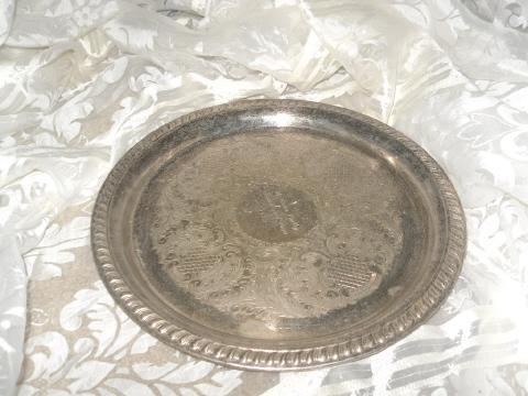 Vintage Silverplate Sheridan Tray