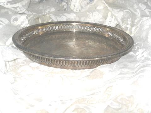 Vintage Silverplate F.B. Rogers Tray