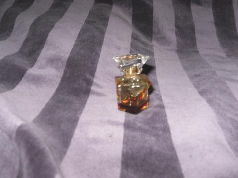 Vintage Cachet Crystal Bottle w/Crystal Stopper