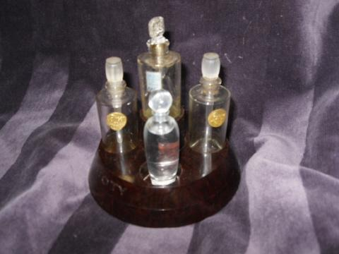 Vintage Coty Perfume Bottle Presentation Box Set   **RARE**