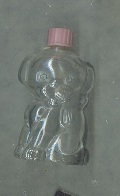 Vintage Puppy Dog Figural Perfume Botttle