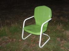 Vintage Metal Lawn Chair