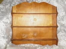 Vintage Wooden Wall Shelf