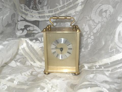 Carriage Style Clock Made in Germany